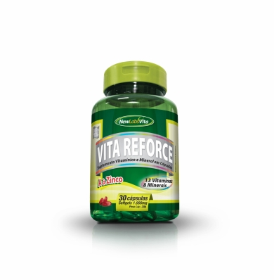 VITA REFORCE 30 CAPS 1.000mg - Suplemento Natural p/ Aumento da Imunidade