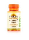 Vitamina C 500mg com 180 Cápsulas Sundown Naturals